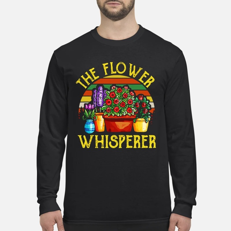 Vintage The Flower Whisperer Longsleeve Tee