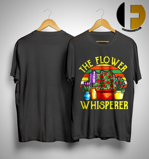 Vintage The Flower Whisperer Shirt