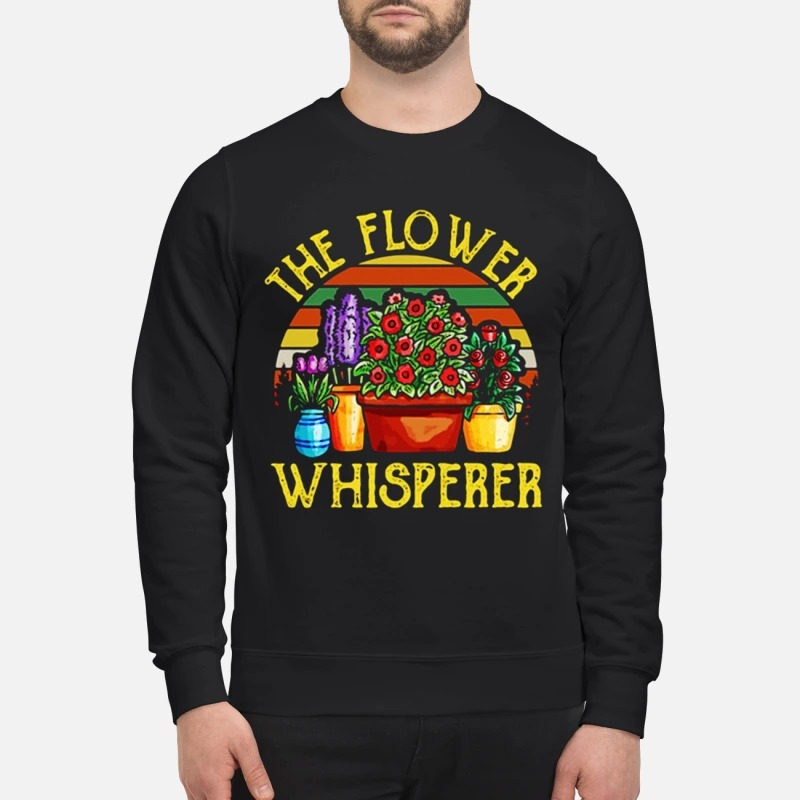 Vintage The Flower Whisperer Sweater