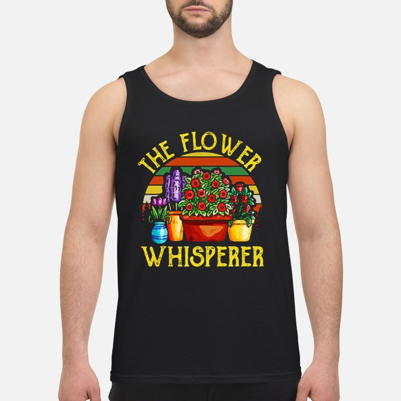 Vintage The Flower Whisperer Tank Top