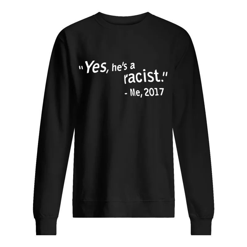 W Kamau Bell Yes He's A Racist Me 2017 Sweater