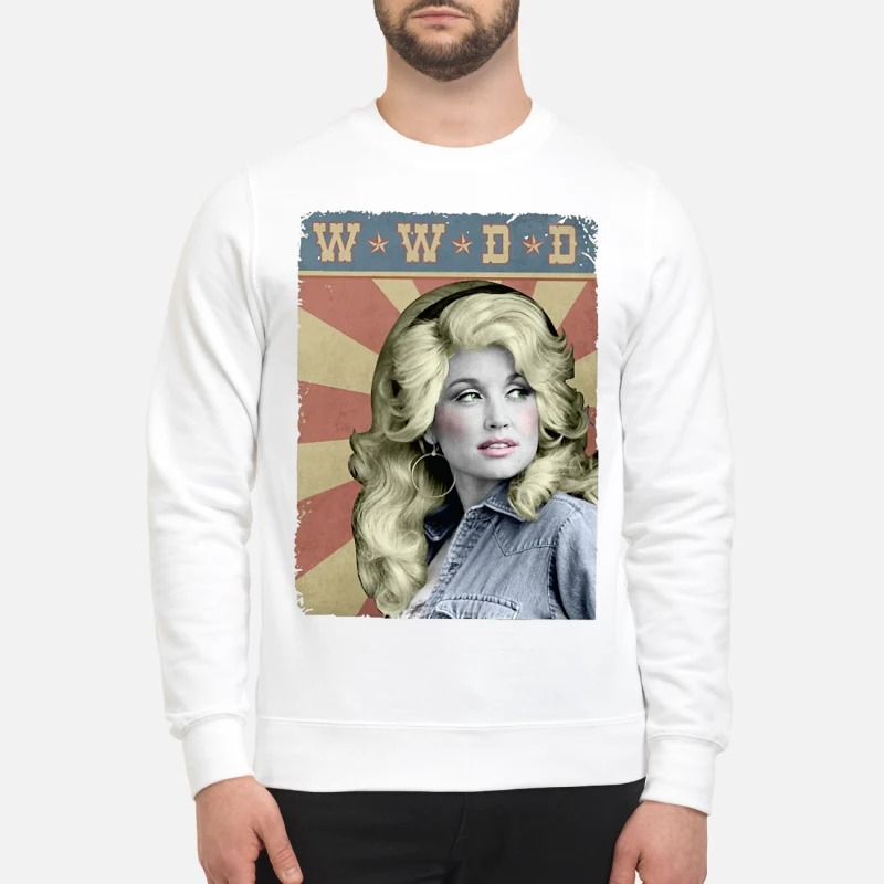 WWDD What Would Dolly Do Sweater