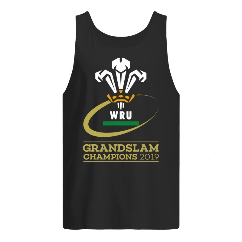 Welsh Rugby 2019 Grand Slam Champions Tank Top
