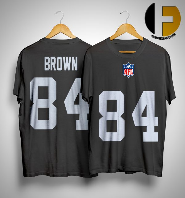 antonio brown raiders #84 Jersey shirt