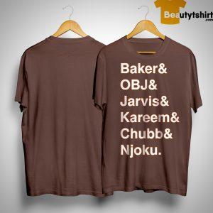 Baker And Obj And Jarvis And Kareem And Chubb And Njoku Shirt