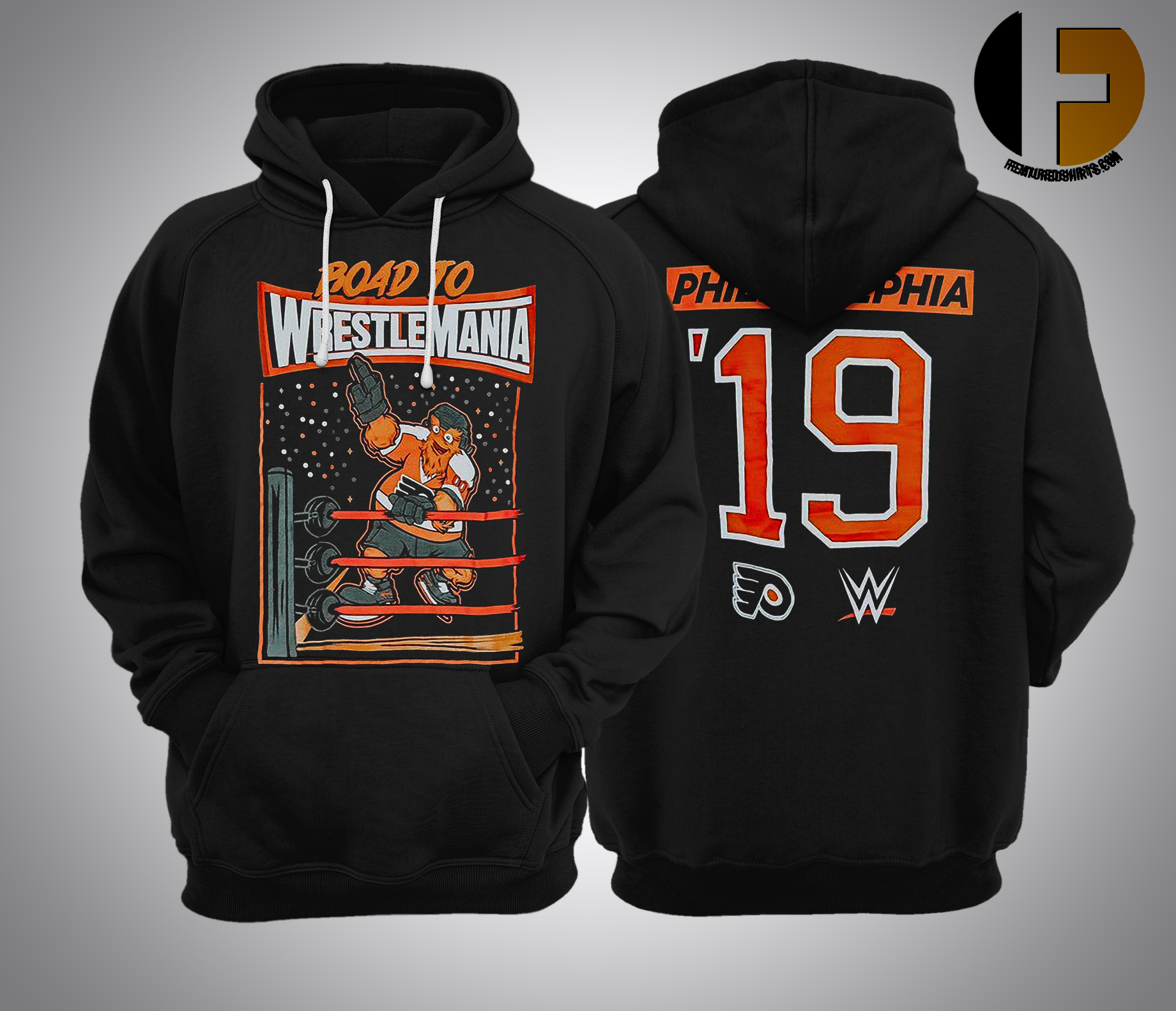 gritty wrestlemania Hoodie