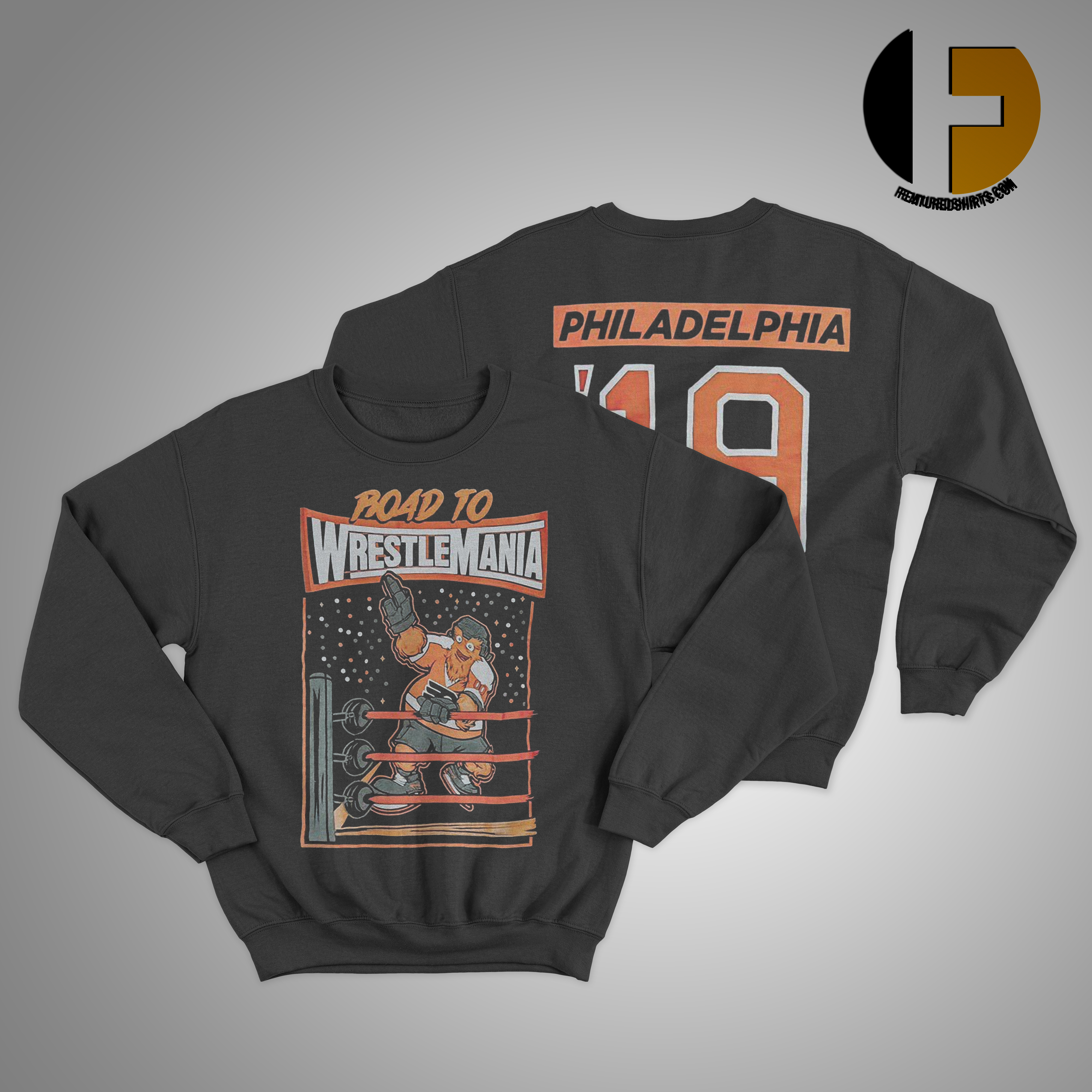 gritty wrestlemania Sweater