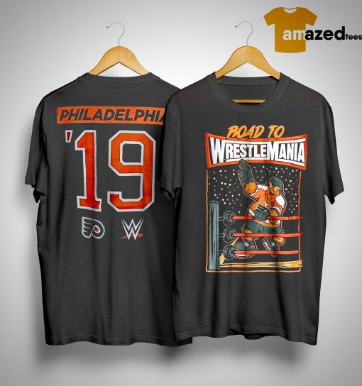 gritty wrestlemania shirt