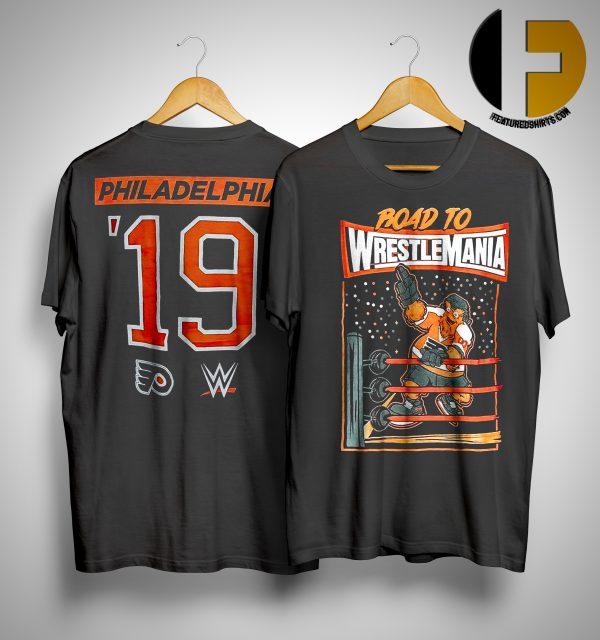 gritty wrestlemania shirt