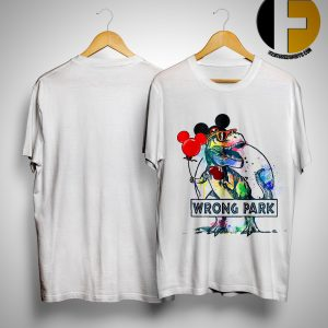 Wrong Park T Rex Shirt