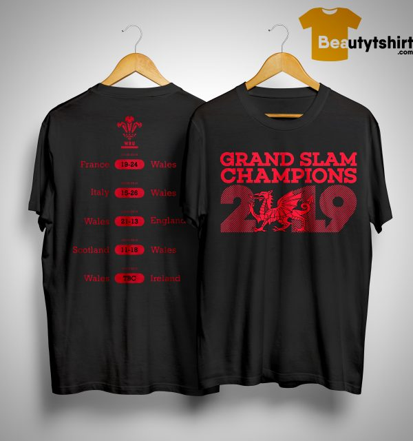 Wru Grand Slam Shirt 2019