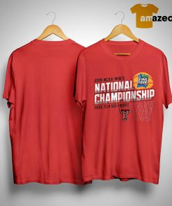 2019 Ncaa Men's National Championship Texas Tech Red Raiders Shirt