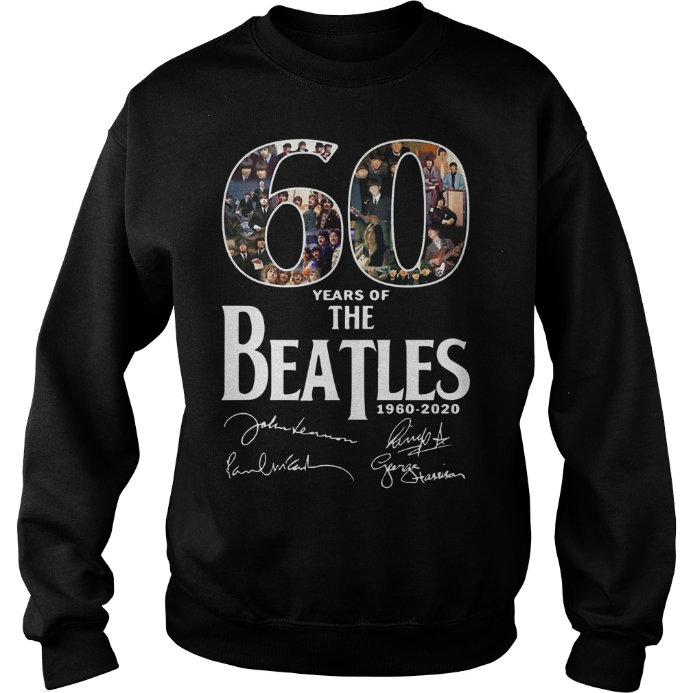 60 Years Of The Beatles 2960 2020 Signatures Sweater