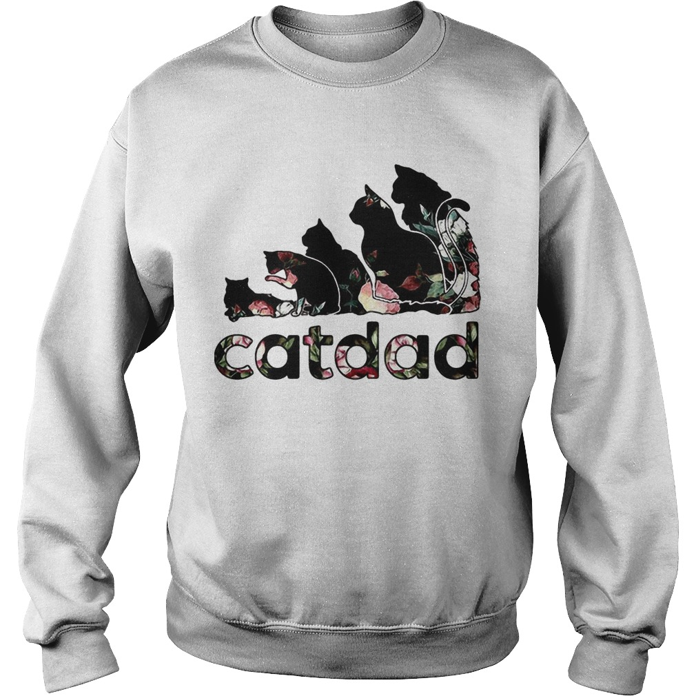 Adidas Flower Catdad Sweater