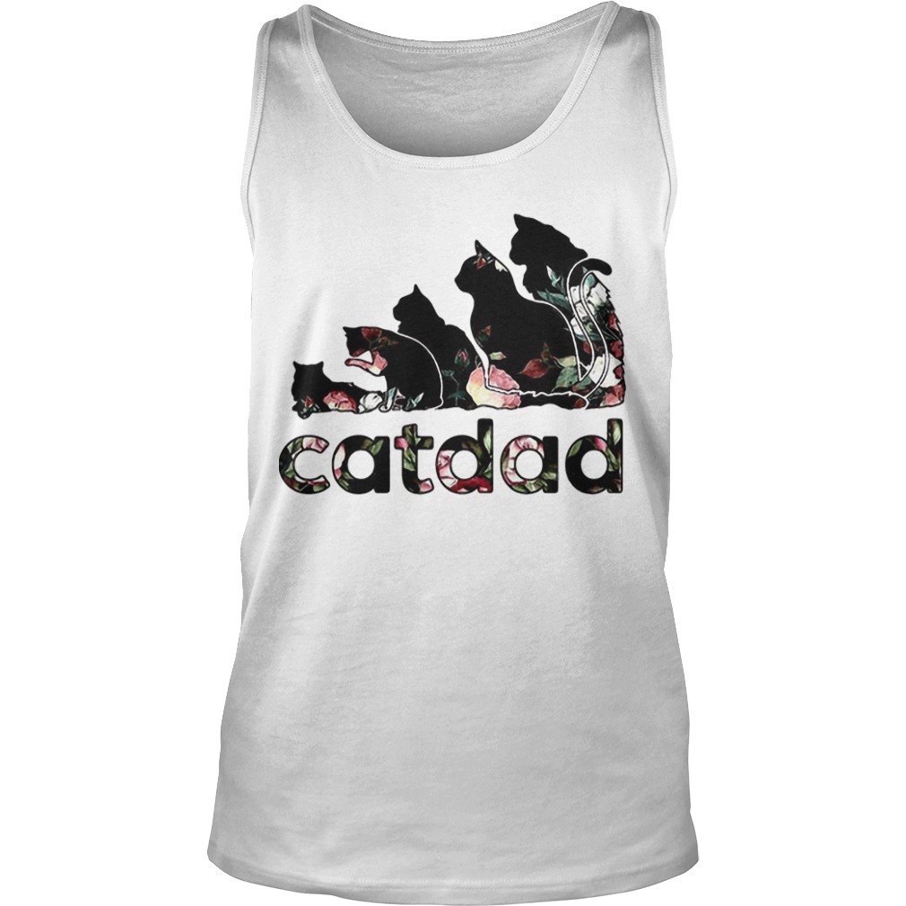 Adidas Flower Catdad Tank Top