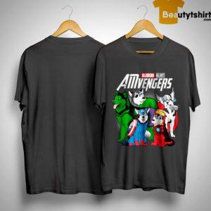 Alaskan Malamute Amvengers Shirt