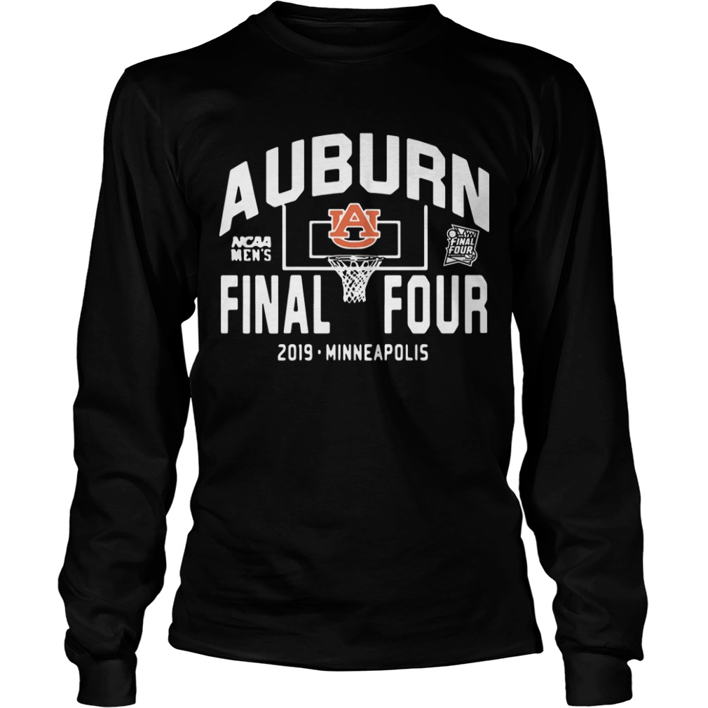 Auburn Tigers Final Four 2019 Minneapolis Longsleeve Tee