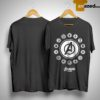Avengers Endgame Circle Symbols Of Heroes Shirt