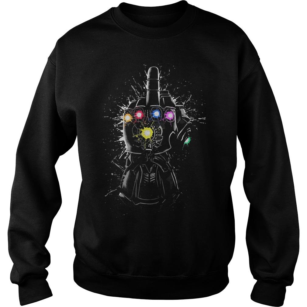 Avengers Endgame Fuck Thanos Infinity Gauntlet Sweater