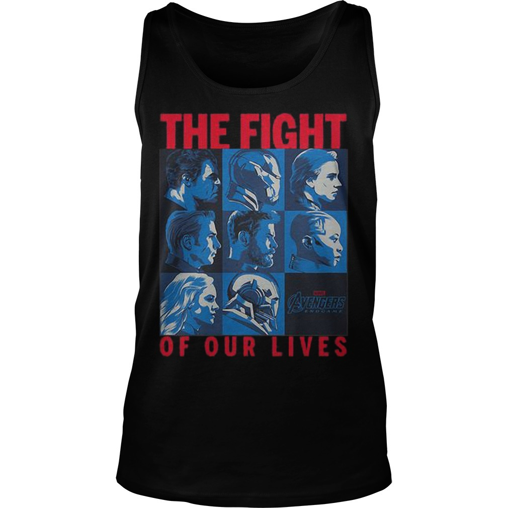 Avengers Endgame The Fight Of Our Lives Tank Top