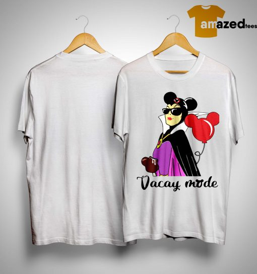 Balloon Mickey Mouse Maleficent Vacay Mode Shirt