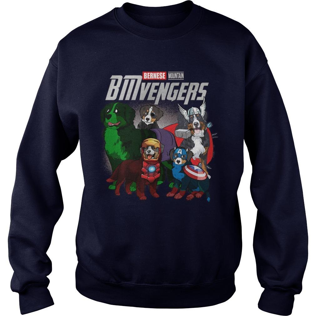 Bernese Mountain Bmvengers Sweater