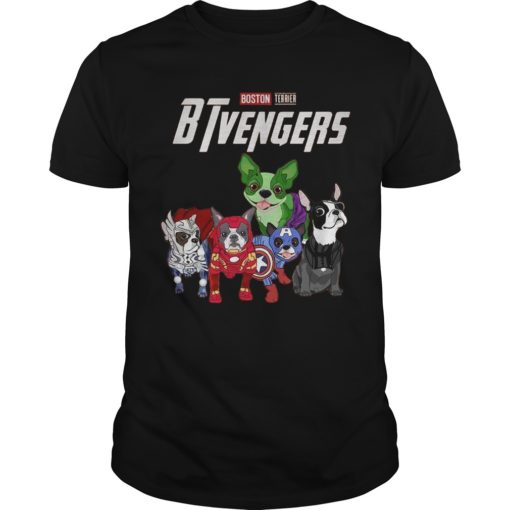 Boston Terrier BTvengers Shirt