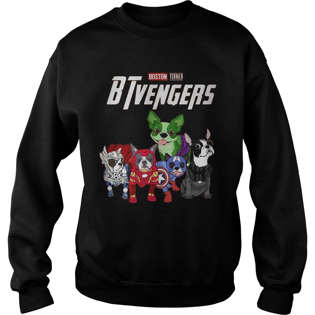 Boston Terrier BTvengers Sweater