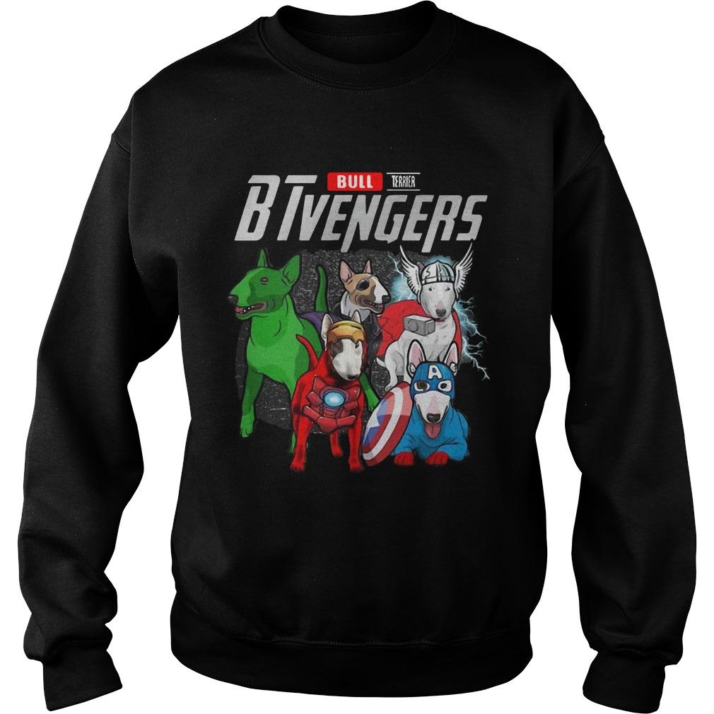 Bull Terrier BTvengers Sweater