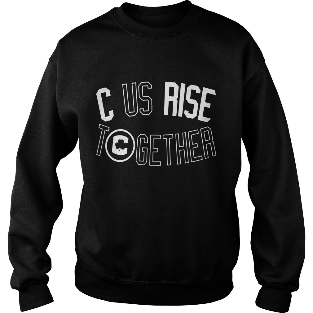 C US Rise Together Boston Playoff Sweater