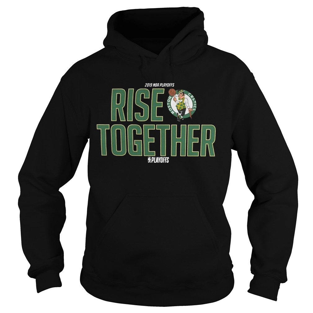 Celtics Rise Together Hoodie