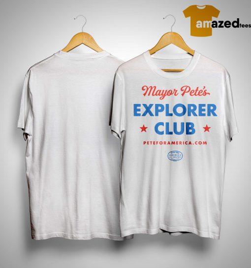 Chasten Buttigieg Mayor Pete's Explorer Club Shirt