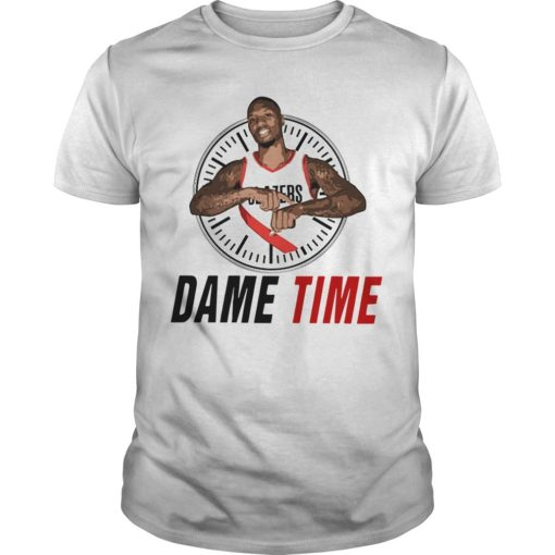 Damian Lillard Clock Dame Time Shirt