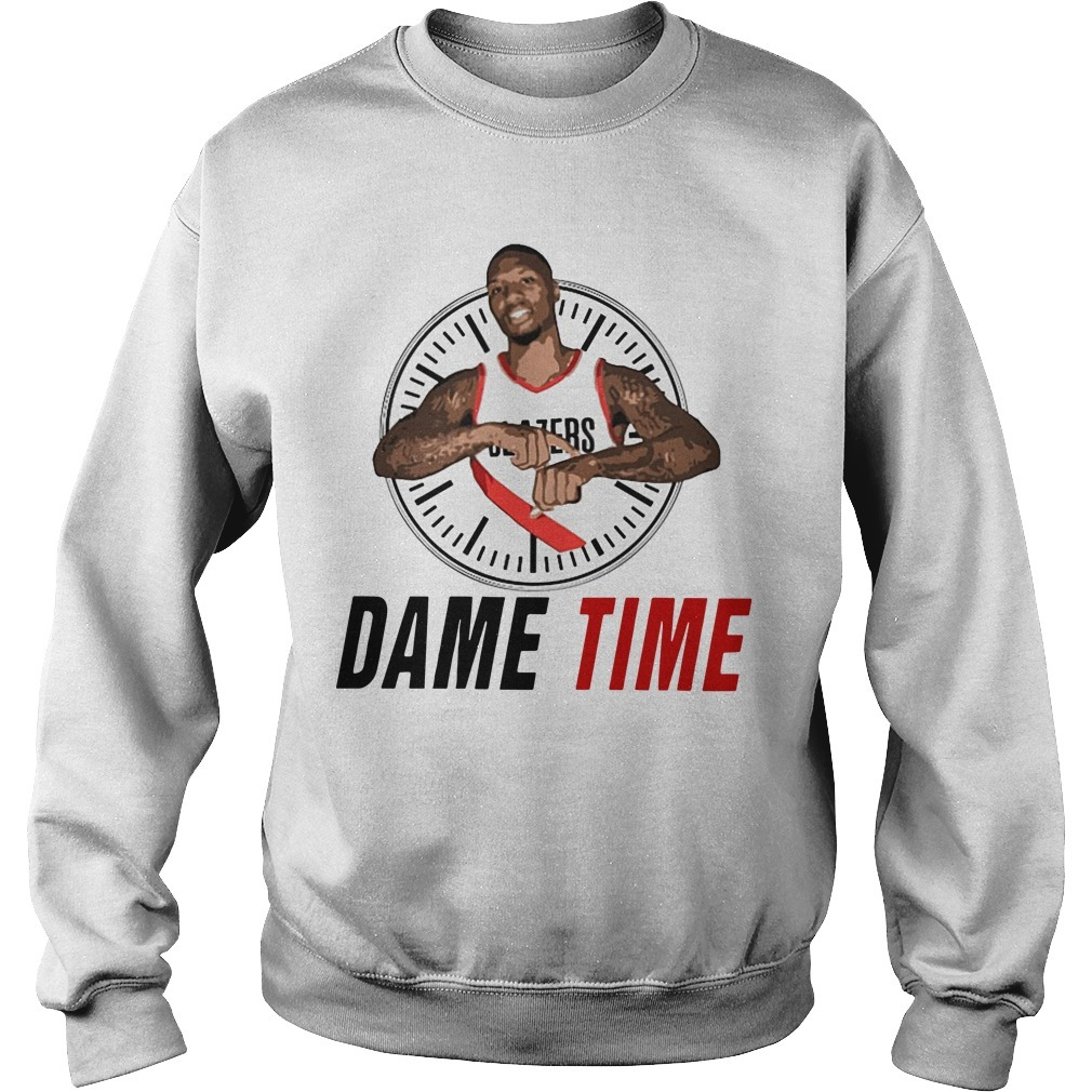 Damian Lillard Clock Dame Time Sweater