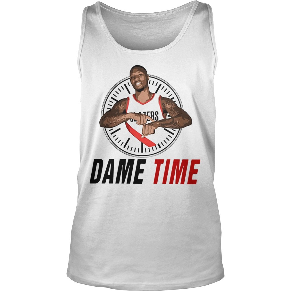 Damian Lillard Clock Dame Time Tank Top