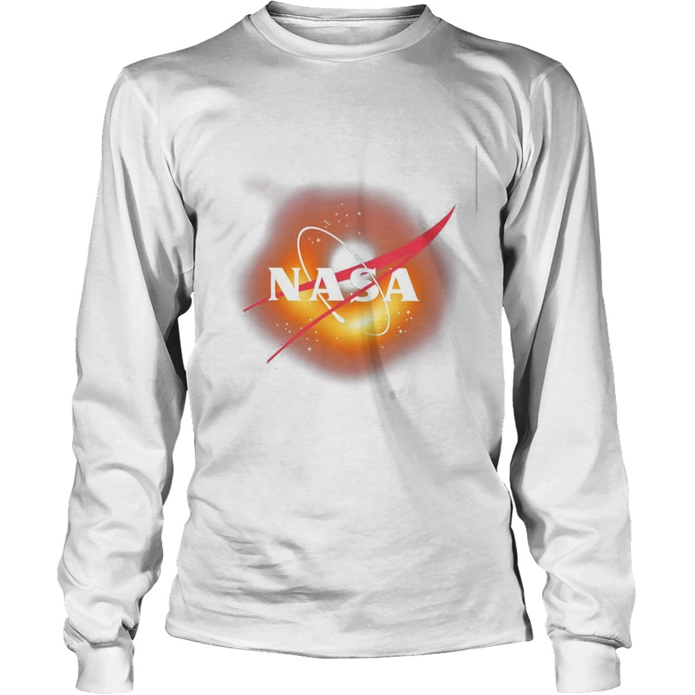 EHT Black Hole Nasa Longsleeve Tee