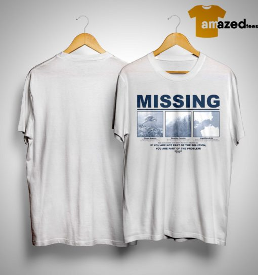 Earth Day 2019 Missing Shirt