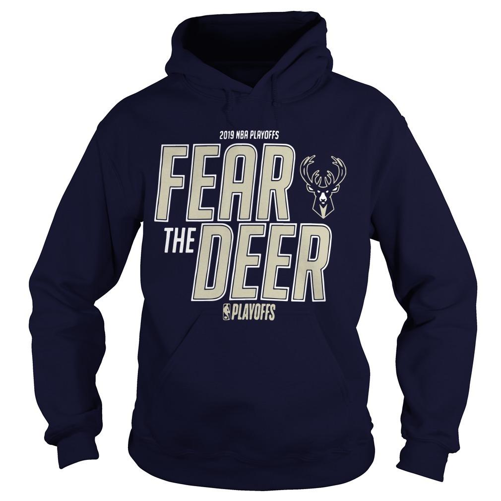 Fear The Deer Hoodie 2019 Playoff