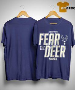 Fear The Deer Shirt 2019 Playoff