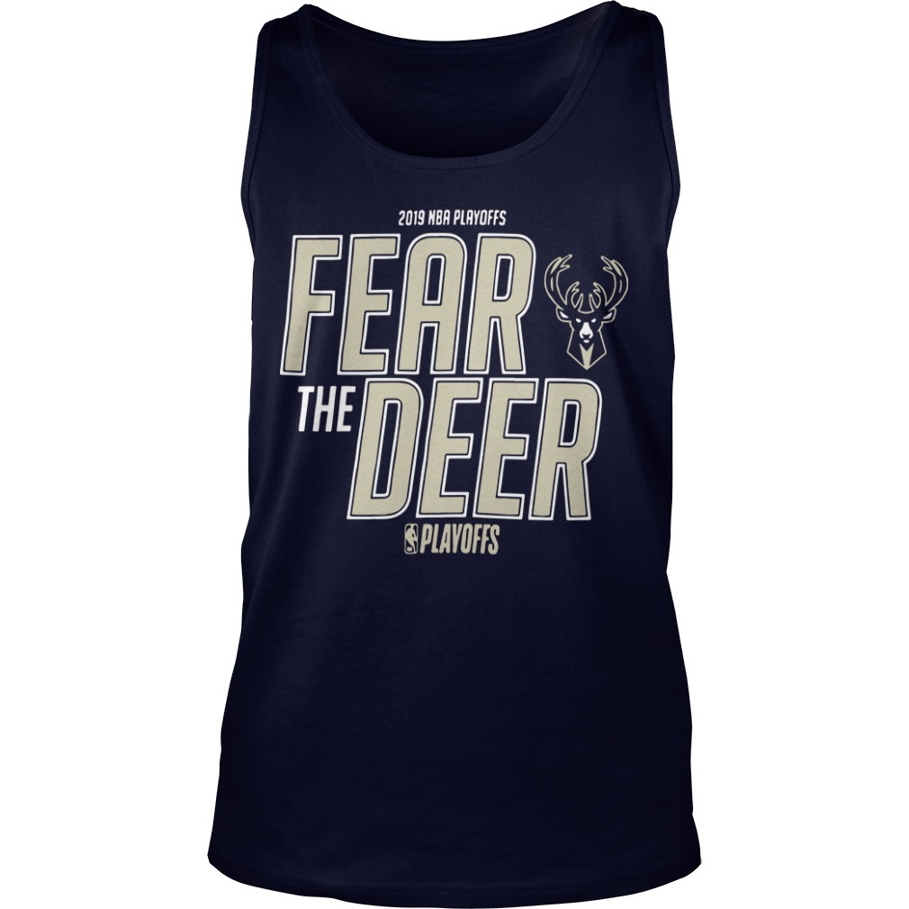 Fear The Deer Tank Top 2019 Playoff