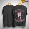 Flamingo I'm Not A Hot Mess I'm A Spicy Disaster Shirt