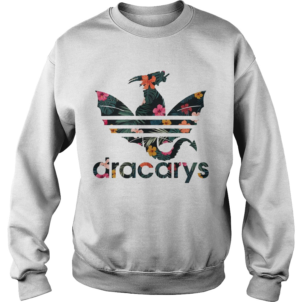 41ed246b Floral Game Of Thrones Adidas Dracarys Shirt For Men And Woman.