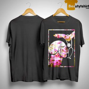 Flower Dickhead Dog Noma Bar Mans Nurse Shirt