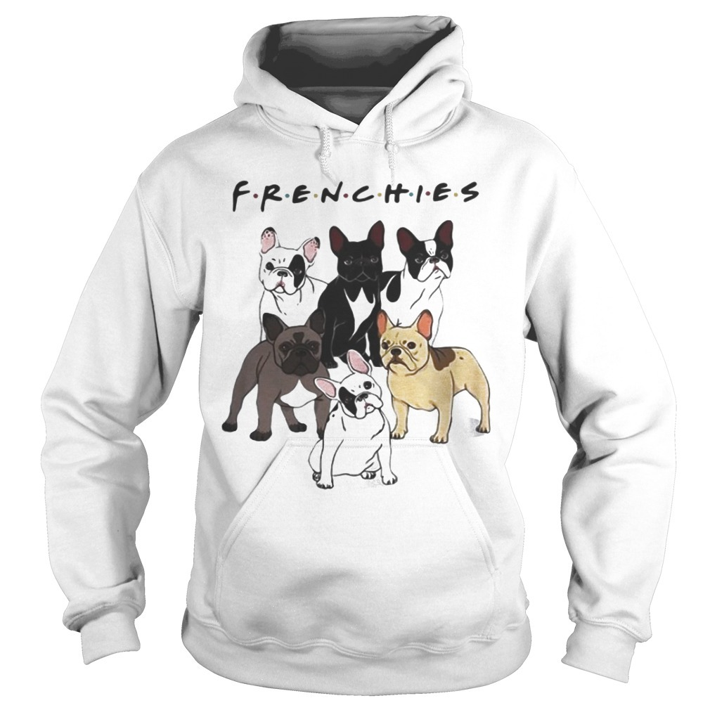 Frenchies Friends Tv Show Dog Hoodie