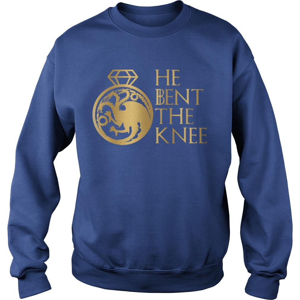 Game Of Thrones He Bent The Knee Sweater