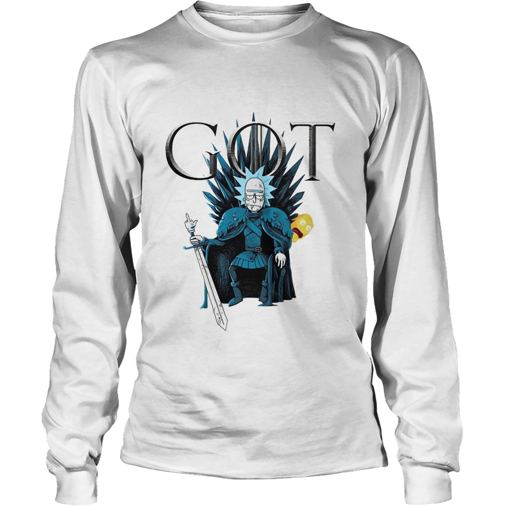 Game Of Thrones Rick Sanchez Show Me What You Got Longsleeve Tee