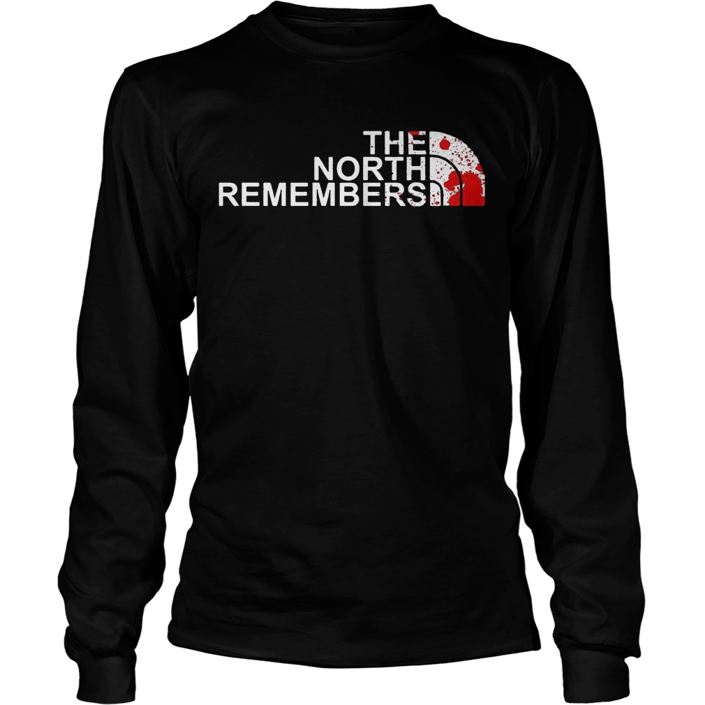 Game Of Thrones The North Remembers Longsleeve Tee