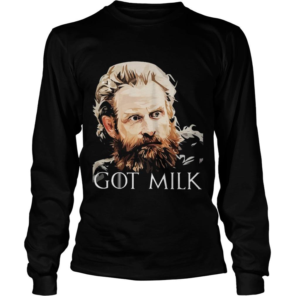 Game Of Thrones Tormund GOT Milk Longsleeve Tee