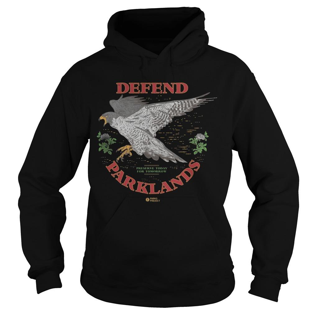 Greta Van Fleet Defend Parklands Hoodie