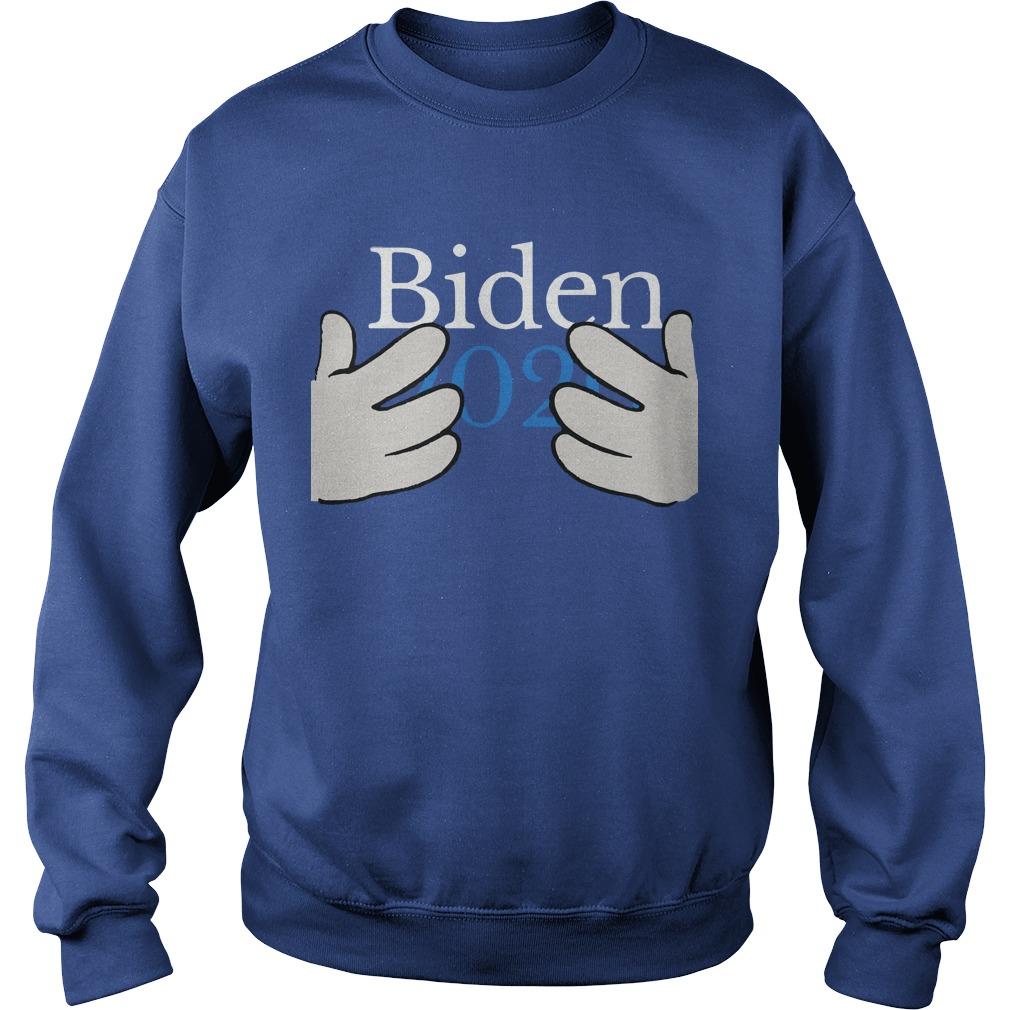 Hand Biden 2020 Sweater